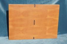 Modell 3: Schneidebrett Buche mit Nußbaumeinlagen